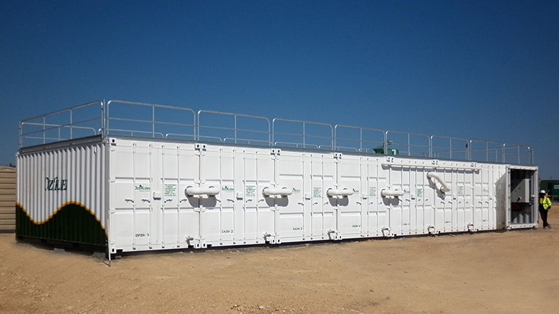 Ozzi Kleen Containerised Transportable System
